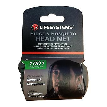 Lifesystems Midge & Mosquito Head Net -