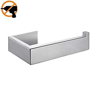 Stainless Steel, Self Adhesive Toilet Roll Holder