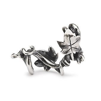 Trollbeads ingelijst door Ivy Silver Bead TAGBE-40123