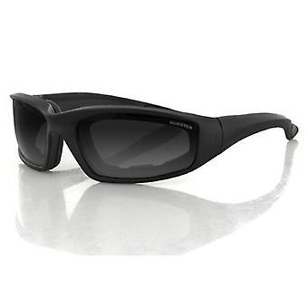 Balboa ES214 Black Frame Foamerz 2 Sunglass - Anti-Fog Smoked ANSI Z87