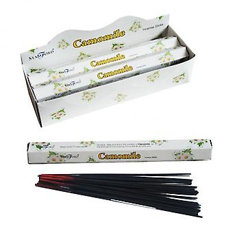 Camomille Stamford Hex Encens Sticks X 6 Pack