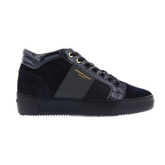 Android Homme Propulsion Mid Navy Patent Niebieski AH405NAVY buty