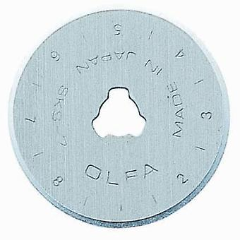 Olfa 28mm Rotary Cutter Spare Blades Genuine Replacements 2 Pack
