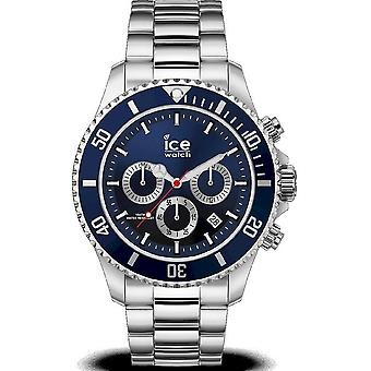 Ice Watch - Wristwatch - Men - ICE steel - Marine silver - Large - CH - 017672