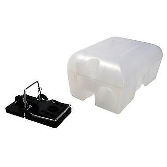 Rentokil Enclosed Rat Trap Lockable Box RKLPSE10