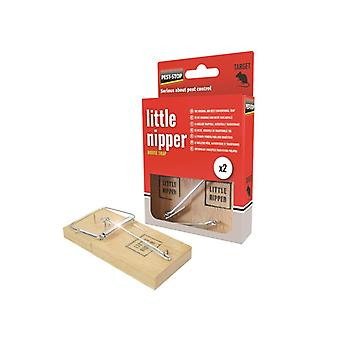 Pest-Stop Systems Little Nipper Mouse Trap (Blister) PRCPSLNMB