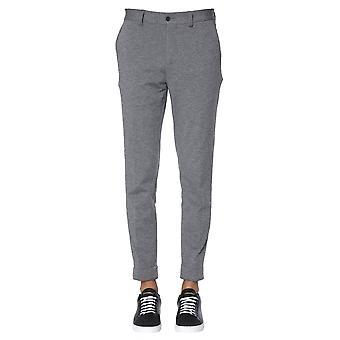 Traiano Tp11ta15tl2l Men's Grey Polyester Pants