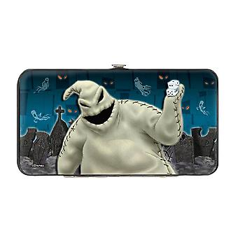 Disney The Nightmare Before Christmas Hinged Clutch Purse