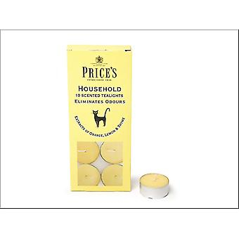 Prices Tealights Household x 10 FR251016