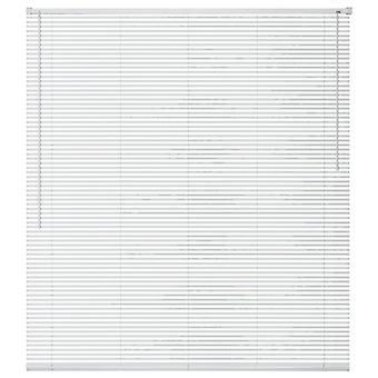 Window blinds aluminium 160x160 cm White