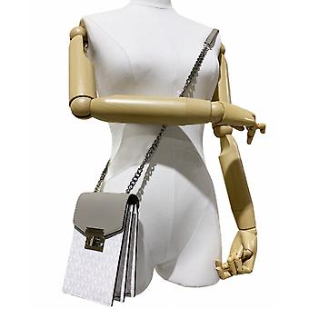 Michael kors rose small ns phone crossbody leather bag bright white mk