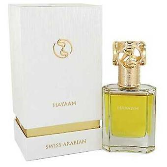 Swiss Arabian Hayaam By Swiss Arabian Eau De Parfum Spray (unisex) 1.7 Oz (miehet) V728-548630