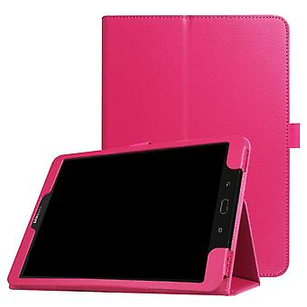 Folio leather case for Samsung Galaxy Tab A 7.0 T285/T280 Red rose