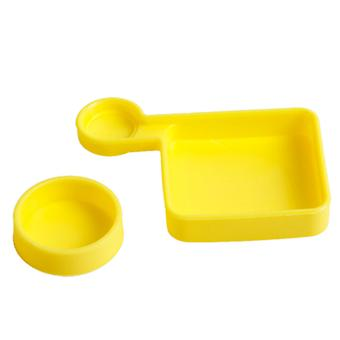 TMC Silicone Cover Set for GoPro HD Hero 4 / 3+(Yellow)