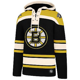 &ampos;47 Overlegen Lacer Heavy Fleece Hettegenser NHL Boston Bruins