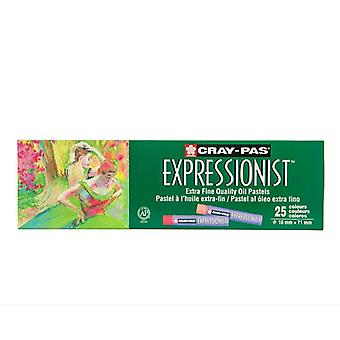 Cray-pas Expressionist Assorted Graffiti Oil Pastel Set