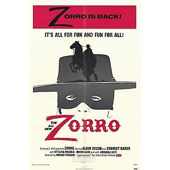 Zorro Movie Poster (11 x 17)
