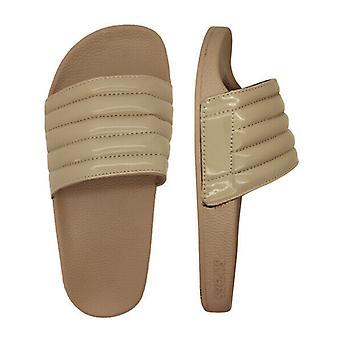Slydes Port Womens Slip On Sliders Open Toe Flip Flops Slide Taupe S0241S015 Z3A