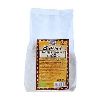 バイオファイバー+全粒粉のスペル小麦粉500グラム