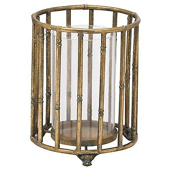Hill Interiors Bamboo Candle Lantern