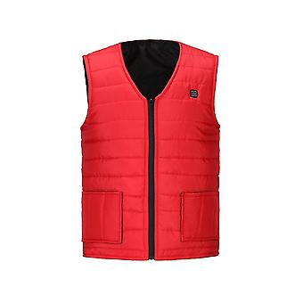 Homme Automne, Winter Smart Heating Cotton Vest, Usb Infrared, Electric Heating,