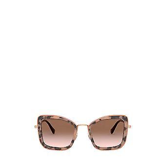 Miu Miu MU 55VS havana pink female sunglasses