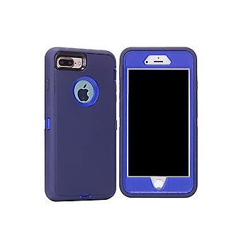 Apple iPhone 7/8 Iskunkestävä TPU-kotelon kansi - tummansininen