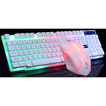 Gtx300 Gaming Cf Lol Gaming Clavier Mouse Glowing Set