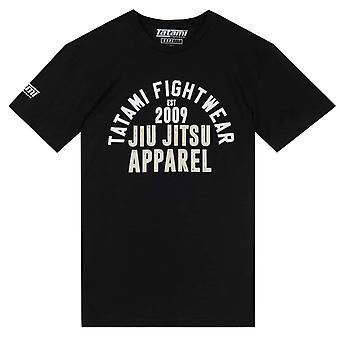 Tatami Fightwear Retro T-Shirt  Black