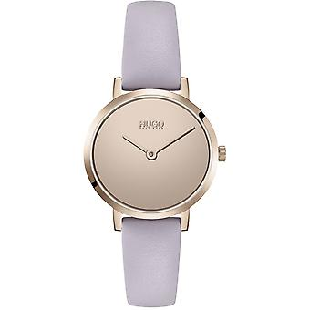 HUGO Hugo 1540083 Cherish Pale Rose Gold And Lilac Ladies Watch
