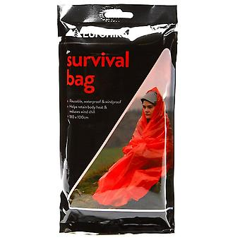 New Eurohike Survival Bag Outdoors Camping Silver
