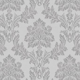 Salvador Grey Wallpaper