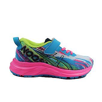 Asics Pre Noosa Tri 13 PS Aqua/Pink Mesh Childrens Running Trainers