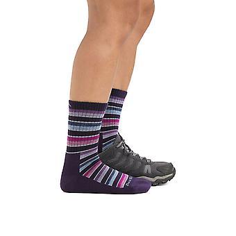 Darn Tough Ladies Decade Stripe Micro Crew Cushion Sock