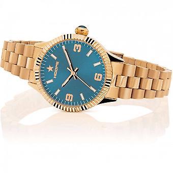 Hoops New Luxury Steel Watch 2618l-rg04 Rose Gold Bluestone