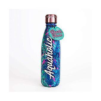 Beach please aquaholic water bottle