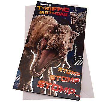 Jurassic World T-Riffic Birthday Card