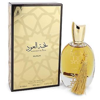 Nukhbat Al Oud Eau De Parfum Spray (Unisex) By Nusuk 3.4 oz Eau De Parfum Spray