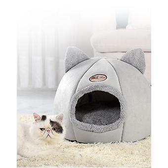 Pet Bed Cave House, Cat Ear, Litter Mat, Home Accessories, Pour Chat Cozy