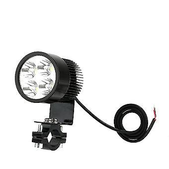 12V-80v 20w black led headlight lamp universal for motorcycle e-bike