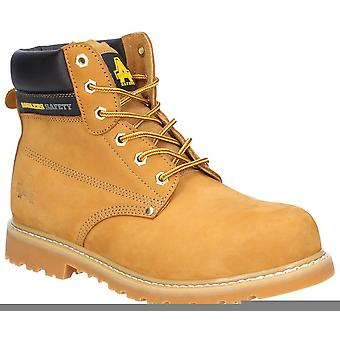 Amblers fs7 goodyear welted safety boots womens