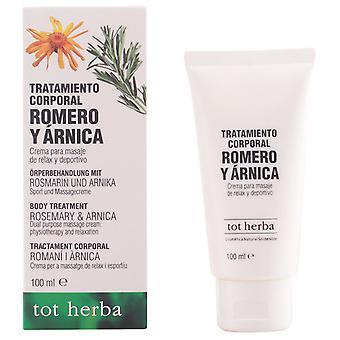Vendrell Beruhigungscreme für Rosmarin und Arnika 100 ml