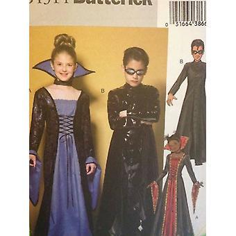 Butterick نمط الخياطة 0367 4314 بنين الفتيات مصفوفة منفضة معطف حجم 12-16 UC