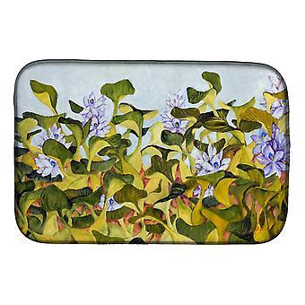 Carolines Treasures FHC1004DDM Vand Hyacinth af Ferris Hotard Dish Tørring Mat