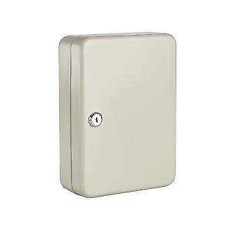 Metal 20 Key Lock Cabinet - Secure Safety Wall Mounted Safe Security Storage Box