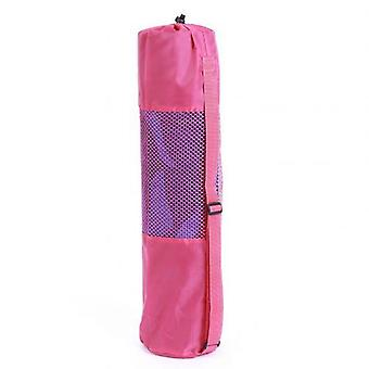 Portable Gym Fitness Yoga Mat, Blanket Carry Pouch, Oxford Cloth, Shoulder Bag