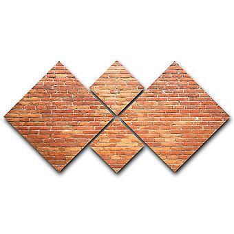 Lienzo de pared ladrillos