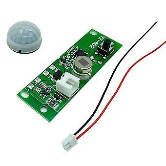 3.7v Diy الشمسية ضوء لوحة التحكم وحدة تحكم وحدة الأشعة تحت الحمراء مصباح لوحة