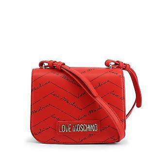 Love Moschino - Bags - Handbags - JC4247PP0BKH-0500 - Ladies - red,black