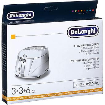 FengChun De Longhi F8-F1000 Filterset schwarz/weiß